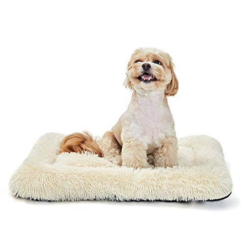 ANWA Puppy Dog Bed Small Pet Bed Crate Bed Soft and Durable for Small Dog