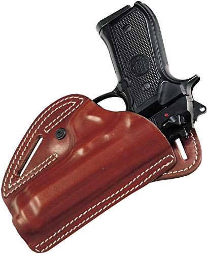 Craft Holsters Glock 45 Compatible Holster - Leather SOB Open Holster (NB1-MAH)