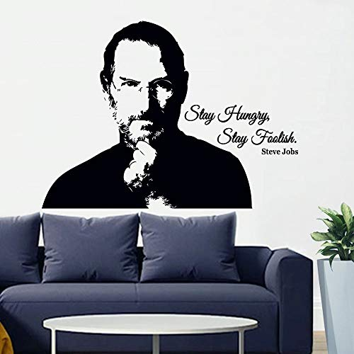 Inspirierende Zitate Wandtattoo Porträt Tür Fenster Vinyl Aufkleber Teen Schlafzimmer Innendekoration,