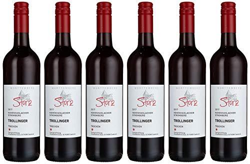 Weingut Storz Hohenhaslacher Stromberg Trollinger Trocken (6 x 0.75 l)