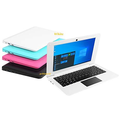 Goldengulf Windows 10 Computer Laptop Mini 10.1 Inch 32GB Ultra Thin and Light Netbook Intel Quad...