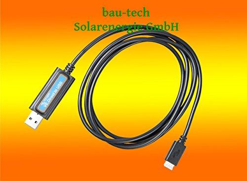 bau-tech Solarenergie Victron Energy VE.Direct zu USB für Geräte wie Victron MPPT Laderegler, Victron Batteriemonitor und Victron Spannungswandler GmbH