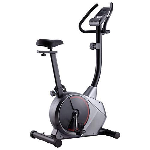 vidaXL Heimtrainer Magnetisch Pulsmessung LCD-Computer-Display Hometrainer Fitness Fahrrad Cardio Ergometer Fitnessbike Trimmrad 120kg Schwungmasse 10kg