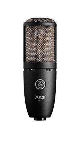 AKG P220| Warm klaren Sound Großmembran True Kondensator Mikrofon