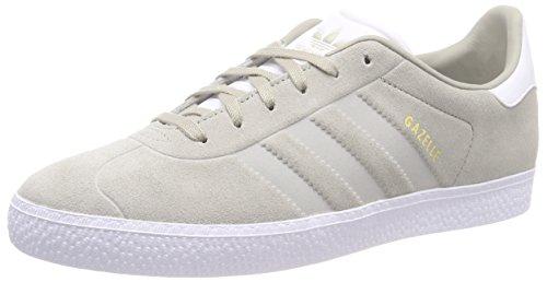 Adidas Gazelle J, Zapatillas de Deporte Unisex Adulto, Multicolor (Sesamo/Sesamo/Ftwbla 000), 38 2/3 EU
