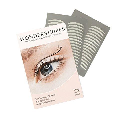 Wonderstripes Augenlid Pflaster, transparent, Größe S