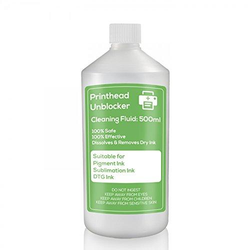DTG cabezal de impresión líquido de limpieza 750ml limpia y para cabezales de impresoras Epson/Brother cabezal de impresión