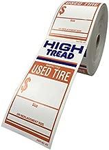 tire tread label