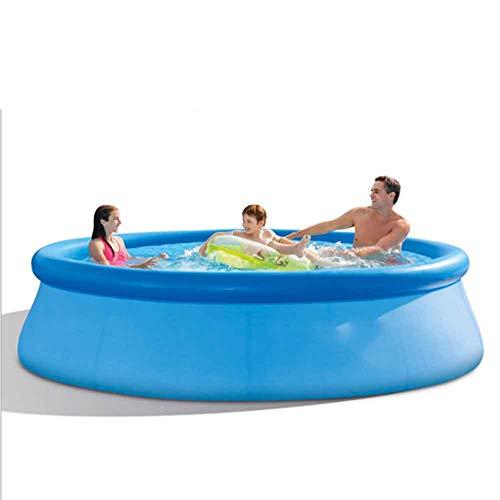 XFY Familienpool Swimmingpool, Quick Up Pool Outdoor Badespaß für Die Ganze Familie Im Eigenen Garten - Kinderplanschbecken Schwimmbecken Planschbecken