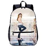 KKASD Sac à dos imprimé en 3D Bella Thorne Cartables pour filles, sacs à dos légers, sacs à dos de mode 45x30x15cm Sac à dos de mode pour adolescents