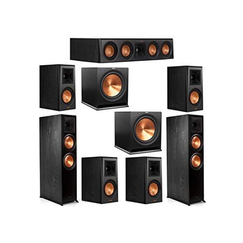 Find Cheap Klipsch 7.2 System with 2 RP-8000F Floorstanding Speakers, 1 Klipsch RP-404C Center Speak...