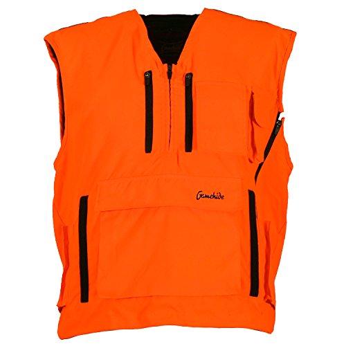 Mountain Pass Extreme Big Game Blaze Hunting Vest (Solid Blaze Orange, 4X-Large)