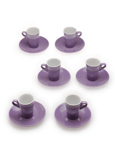 Tognana 6 Tazas de Café Elegant Lila