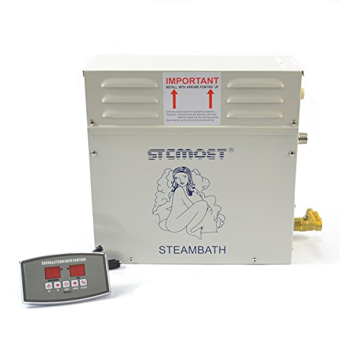 6kw 220v Steam Generator Sauna Bath Steamer for Home SPA Shower with...