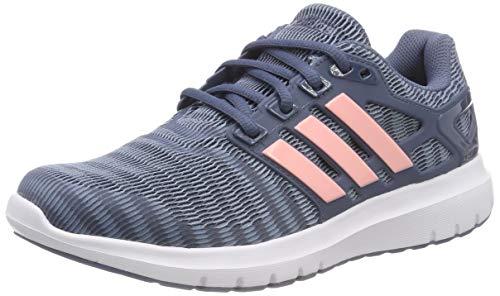 Adidas Energy Cloud V, Zapatillas de Deporte para Mujer, Gris (Raw Grey/Clear Orange/Tech Ink 0), 40 EU