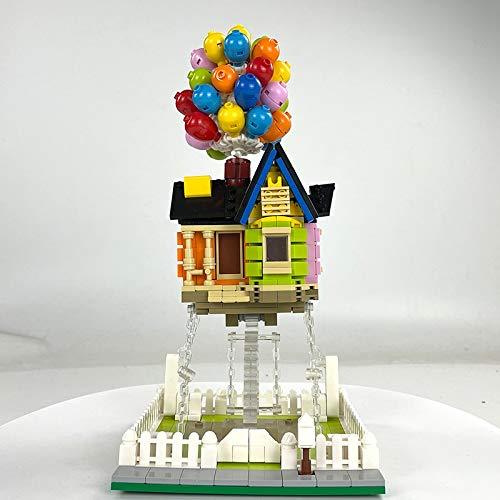 Bloques de construcción Arquitectura Experta, Casa De Globos Voladores, Esculturas De Tensegridad, Bloques De Construcción De Ciudad Modulares, Juguete De La Casa Del Creador