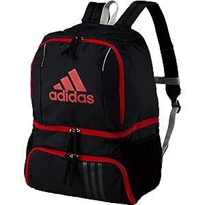 adidas(アディダス) ボール用デイパック ADP27BKR 黒×赤