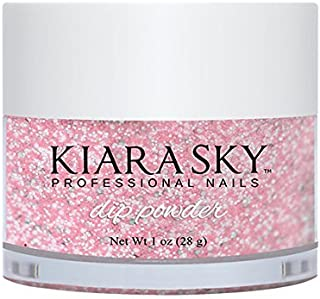 KIARA SKY ACRYLIC DIP POWDER - PINKING OF SPARKLE D496 28G/1OZ by Kiara Sky Professional Nails