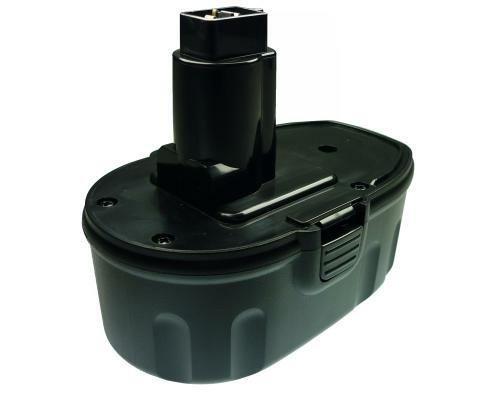 Trade-Shop Premium - Batteria Ni-MH, 18 V, 3000 mAh, sostituisce Black & Decker PS145 DEWALT DC9096 DE9039 DE9095 DE9096 DE9098 DW9095 DW9096 DW9098