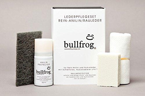 bullfrog Lederpflegeset Rein-Anilin / Rauleder