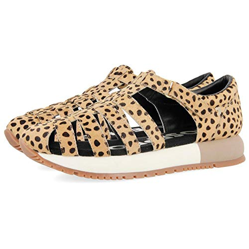 Gioseppo Livermore, Zapatillas sin Cordones Mujer, Multicolor (Leopardo Leopardo), 38 EU