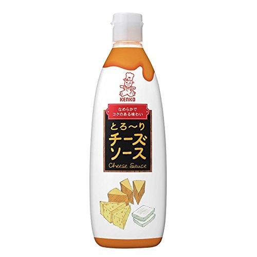 【常温】 ケンコーマヨネーズ とろ〜りチーズソース 450g 業務用 ソース (チーズソース)