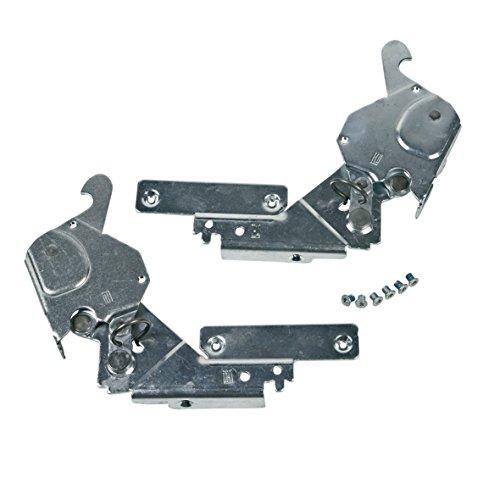 Bauknecht 480131000071 ORIGINAL Türscharnier Scharnier Metallscharnier rechts links Set Spülmaschine Geschirrspüler auch Indesit Ignis Hotpoint C00317395
