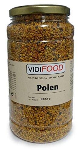 Polen de Abeja Natural en Grano - 1kg - Producto de España - Ayuda para cuidar su salud y perder peso - Altamente Nutritivo