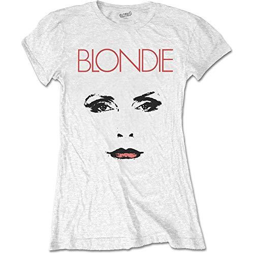 T-Shirt # S Ladies White # Staredown