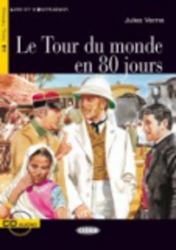 Le Tour Du Monde En 80 Jours - Book & CD [Lingua francese]