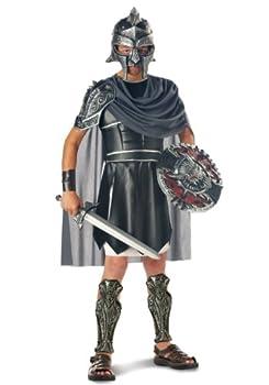 California Costumes Boys Gladiator Child Costume Black/Silver Medium