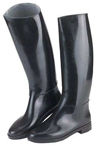Kerbl Covalliero Reitstiefel Hippo aus Kunststoff, mit Sporenhalterung, schwarz, Größe 31