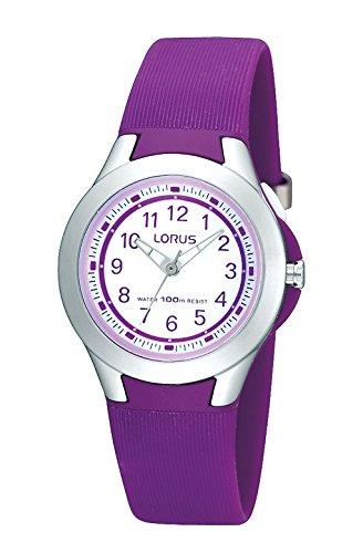 Lorus Reloj Analógico para Chica de Cuarzo con Correa en PU R2313FX9