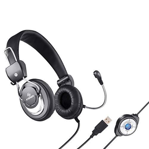 audífonos diadema usb de la marca STEREN