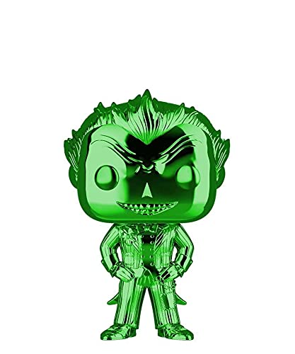 Popsplanet Funko Pop! Heroes - Batman: Arkham Asylum - The Joker (Arkham Asylum) (Green Chrome)...