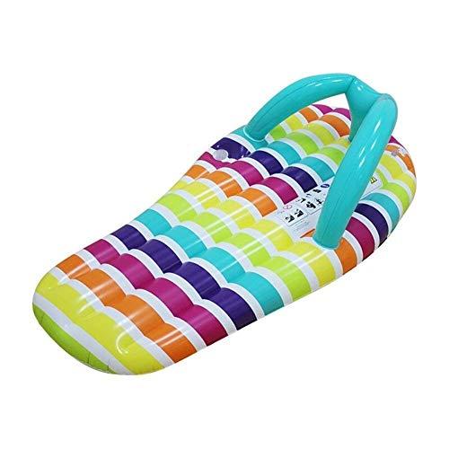 Zwevende Bed Opblaasbare Slippers Drijvend Bed Volwassen Zwevende Rij Kinderen Zwemmen Mounts Verdikking Recliner Drijvende Luchtkussen Drijvende Board Leuke