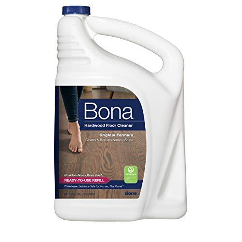 Bona Refill Hardwood Floor Cleaner, 128 Fl Oz (Pack of 1), Clear