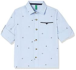 United Colors of Benetton Boys  Regular Fit Shirt