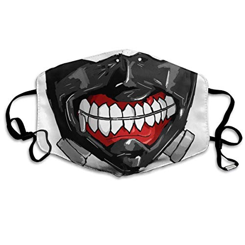 Mundschutz Face Cover Mouth Cover Tokyo Ghoul'S Kaneki Ghoul Face Mouth Cover Comfy Breathable Reusable Face Covering Face Decorations
