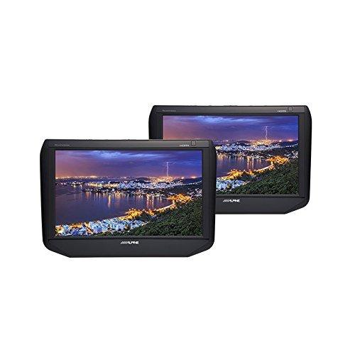 アルパイン(ALPINE) 9型 WSVGA液晶 HDMI ヘッドレストモニター シートバック・リアビジョン(2台パック) SSA9T