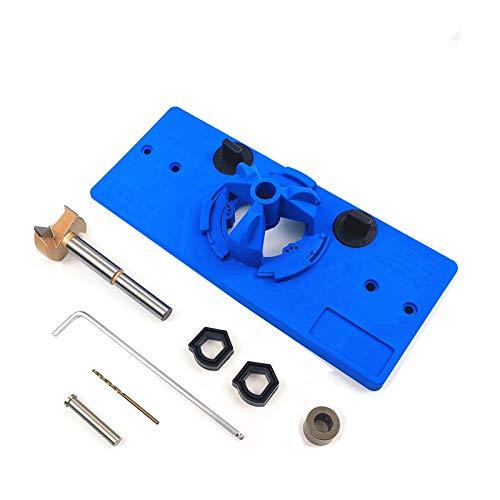 Yiwa inbouwscharnier, 35 mm, scharnier voor montage van jigs, scharnier, gat, voor zaag, boring, opening, deur, kasten, hout, knutselgereedschap