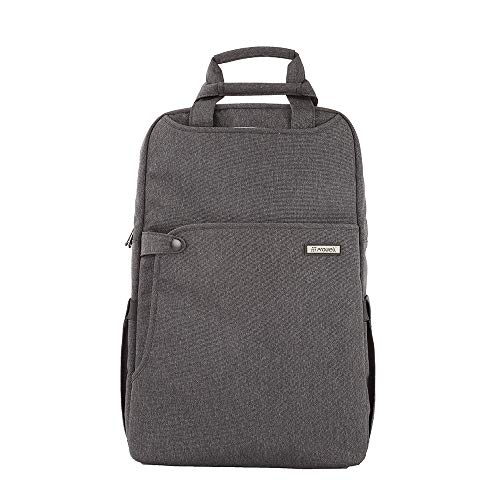 PROWELL NB53328 Multi - Function Shock Absorbing Laptop Backpack_Color:Black