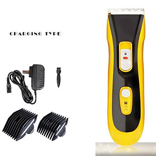 Hondentondeuse, Pet Grooming Tool Clippers Geluidsarme huisdierentondeuse Kit USB Opladen Draadloze hondentrimmer Tondeuse Set voor honden Katten