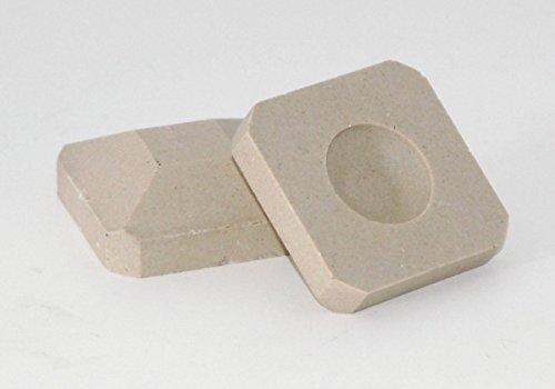 MHP Lynx Gas Grill 28 Pieces White Ceramic Briquette Rock BQLYX