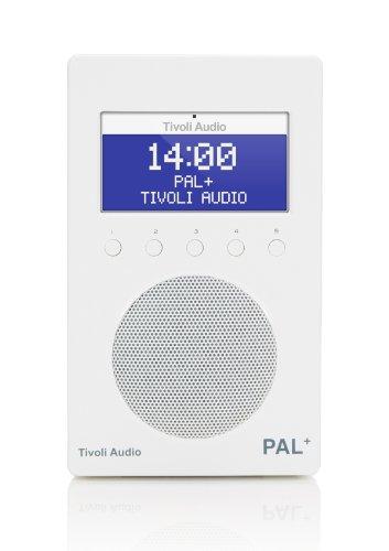 Tivoli 86009 Pal+ Portable Radio (6,3 cm (2,5 Zoll) Display, DAB+, FM) weiß