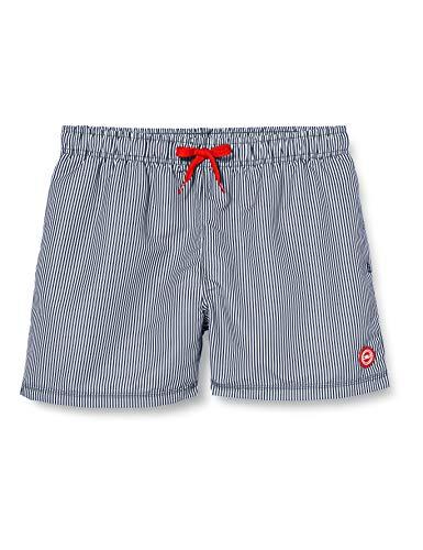 CMP Herren Swiming Shorts in Microfibre Badeshorts, Navy-White, 48