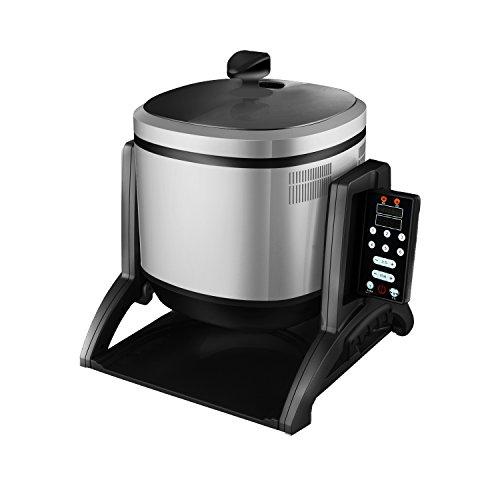 Automático inteligente de comida rápida cocina robot cocina capacidad 3200W tambor cocina máquina