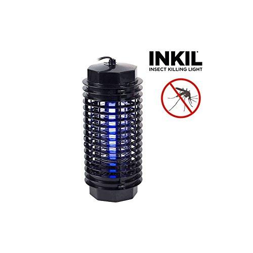 Inkil - Lámpara Antimosquitos, Eléctrico, luz UVA, Fulmina Insectos, Sin Sustancias Químicas,...