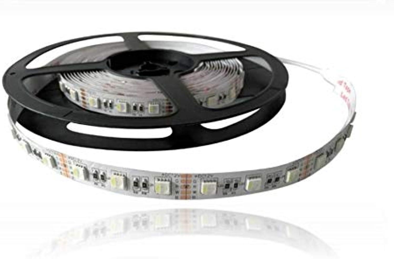 5 Meter RGBW LED Streifen 5050-14,4W M 12V DC IP20 60PCS 1M