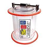 Deshunchang KT-6808 Tambour de Polissage rectifieuse Barrel Acrylique...